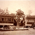 LCC Tram-cars were bought for £4 10s and used as the club headquarters before the indoor range was built in 1905. This building was then extended in 1908 to include a new clubroom.