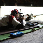 Shooting from the 50m firing point
